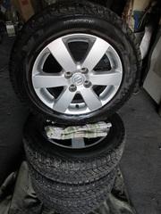 Колеса Viatti brina nordico 18565 R15 шипованные для Suzuki Swift